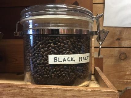 black malt