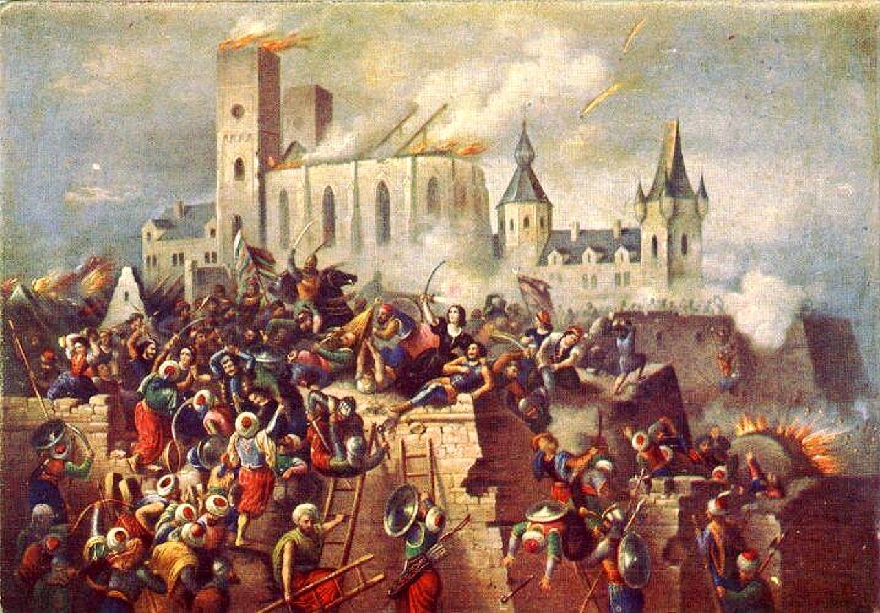 Vízkelety_Béla_Eger_vár_ostroma_1552-ben